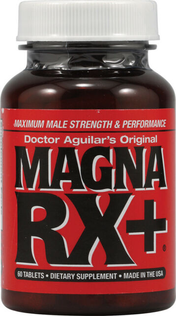 MAGNA RX+ Plus Doctor Aguilars Original Male Sexual Virility Enhancement Magnarx