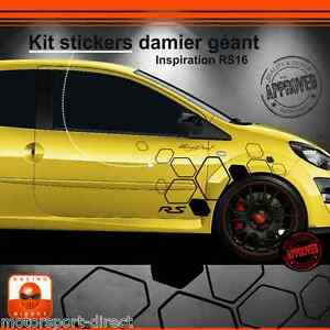 Details about Sticker Renault Twingo RS tuning sport aufkleber adesivi  pegatina decal 506