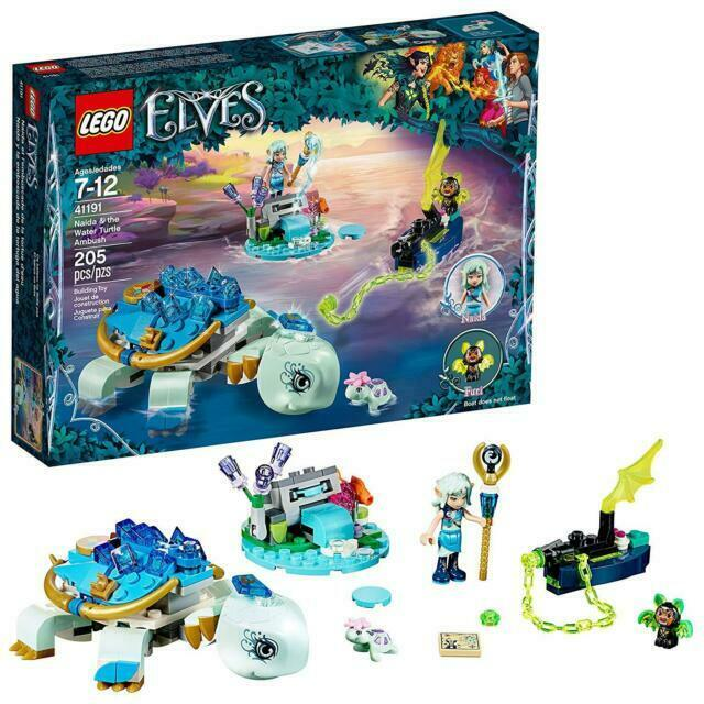 LEGO Elves Naida  the Water Turtle Ambush 41191 W