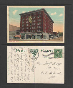 Image Is Loading 1916 Hotel Iowa Keokuk Postcard