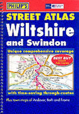 Very Good, Street Atlas Wiltshire: The Definitive Wiltshire Atlas, , Book