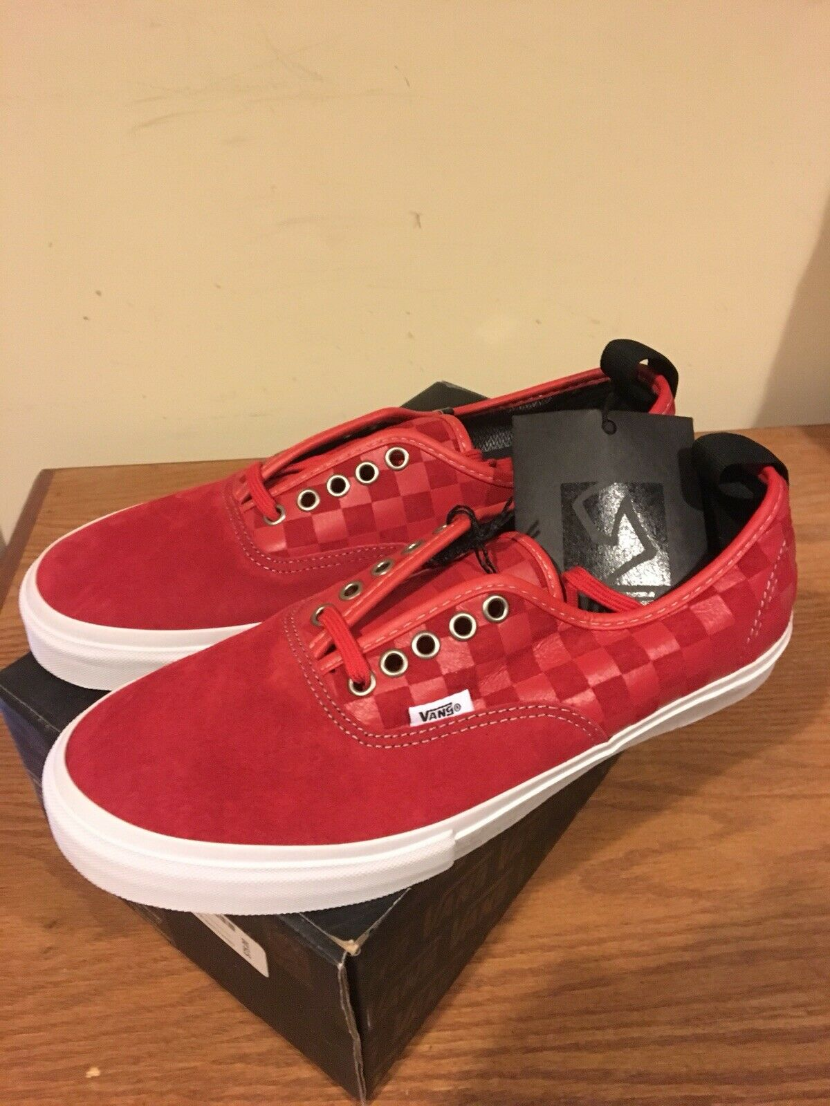 Vans Authentic 69 Pro Syndicate Red