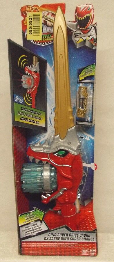 Power Rangers Dino Super Charge Super Drive Drive Drive Saber Electronic Lights & Sound FX  2bde55