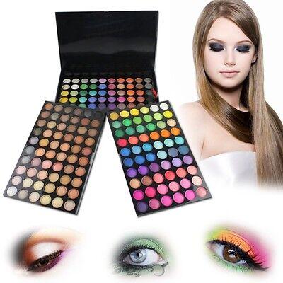 180 Full Colours Cosmetic Eyeshadow Palette Makeup Eye Shadow Professional Box