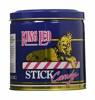2-pack King Leo Soft Peppermint Stick Candy 19.2oz Gift Tin Free Shipping