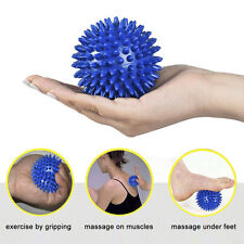 9cm Footful Spiky Massage Ball Trigger Point Sport Fitness Hand Foot Pain Relief