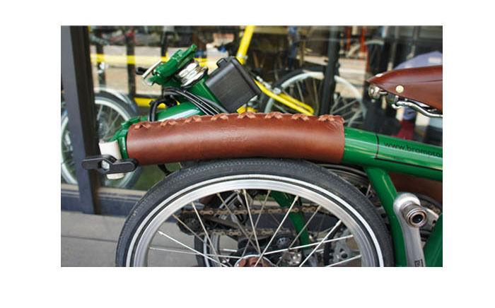 BA Sport bycle cuir long tube supérieur Housse Pour Brompton (version longue)
