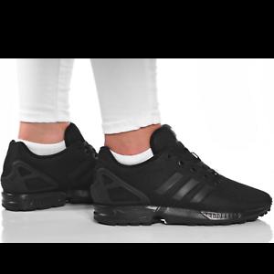womens black flux trainers