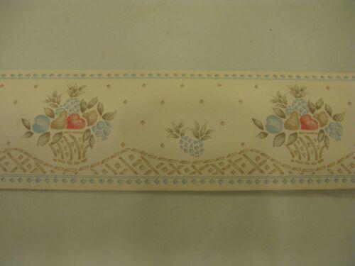 10m Vintage Wallpaper Border Scarborough Fair Pattern No 4531 75mm Width UK #W15