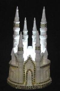 fairytale castle wedding cake topper cinderella castle wedding cake topper gold trim ebay 14098