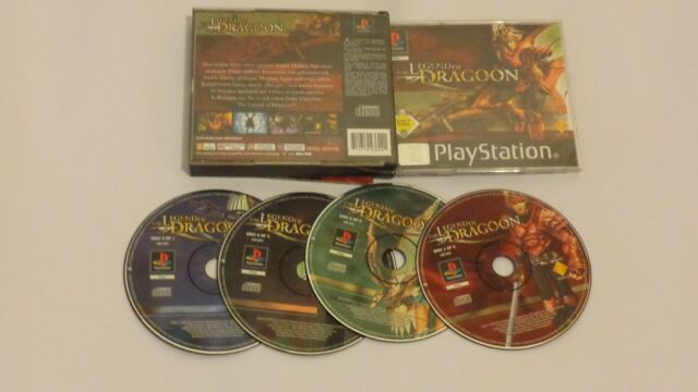The Legend Of Dragoon ps1 spiel Sony PlayStation 1, 2001