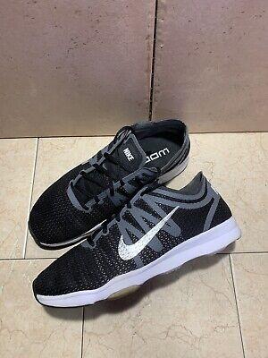 Nike Zoom Fit 2 819672-001 Womens Black Mesh Athletic Cross Training Shoes  7   eBay