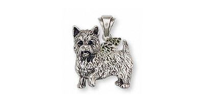 Sterling Silver Solid Polished Open bottom Enamel Dog Charm