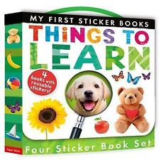 My First: My First Sticker Book Boxed Set : Things to Learn by Patricia...
