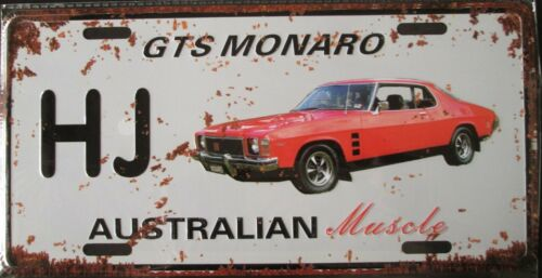 FORD GT CAPRI Metal Signs Australian Muscle Cars MAN CAVE SHED BAR