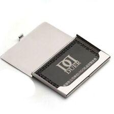 Silver Aluminium Business ID Credit Card Metal Case Box Holder Pocket Office Man