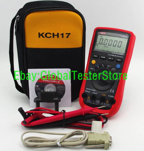 UNI-T UT61E Digital Handheld Mutimeter Tester DMM AC DC Volt Ohm Frq with case