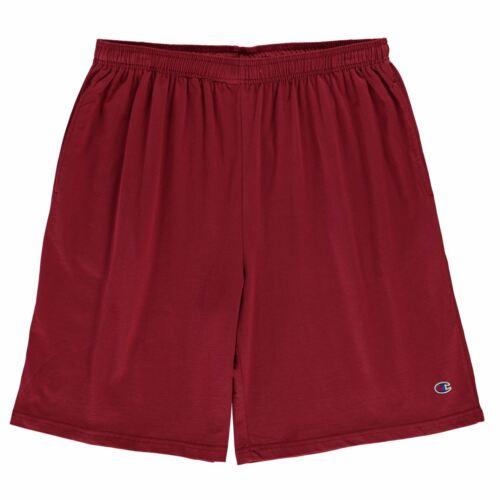 Champion Herren Jersey Shorts Baumwolle Elastischer Bund Kurze Jogginghose