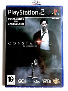 Constantine-PS2-Neuf-Scelle-Videojuego-Videogame-Scelle-Produit-Nouveau-Spa