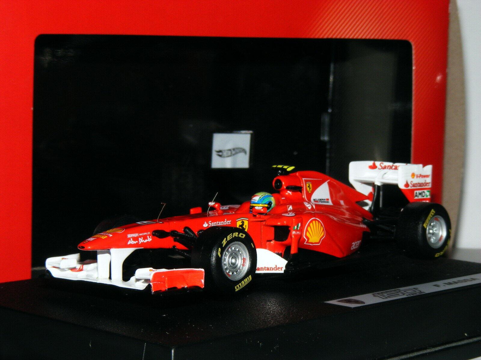 HOT WHEELS RACING W1076 Ferrari 150 º Italia 2011 Felipe Massa 1 43