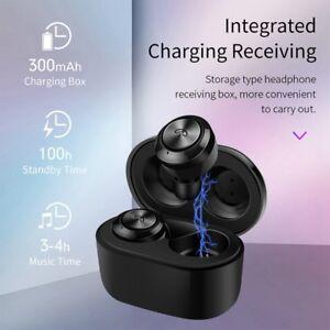 de5c3b57f97 True Wireless Bluetooth 5.0 Earbuds TWS Headset Earphone Headphone ...