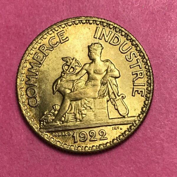 #399 - 50 Centimes 1922 Cdc Spl Facture Avoir Une Longue Position Historique