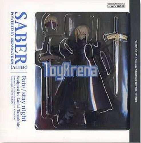 Fate Stay Night Dark Saber Alter Action Figure with Revoltech Joints Kaiyodo