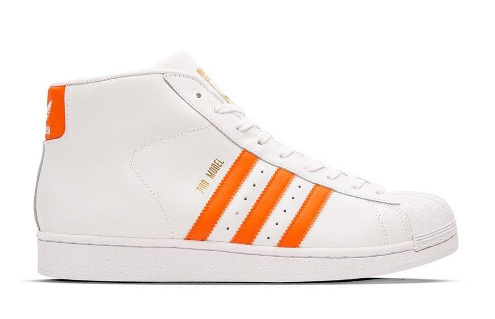 adidas originals männer pro model schuhe b weiß / orange by3729 b schuhe c506b8