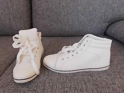 Sneaker Schuhe von Zapalandia Classic High Weiß Gr.42