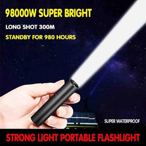 USB Starklicht Tragbare Taschenlampe Starkes Licht Tragbare LED-Taschenlampe
