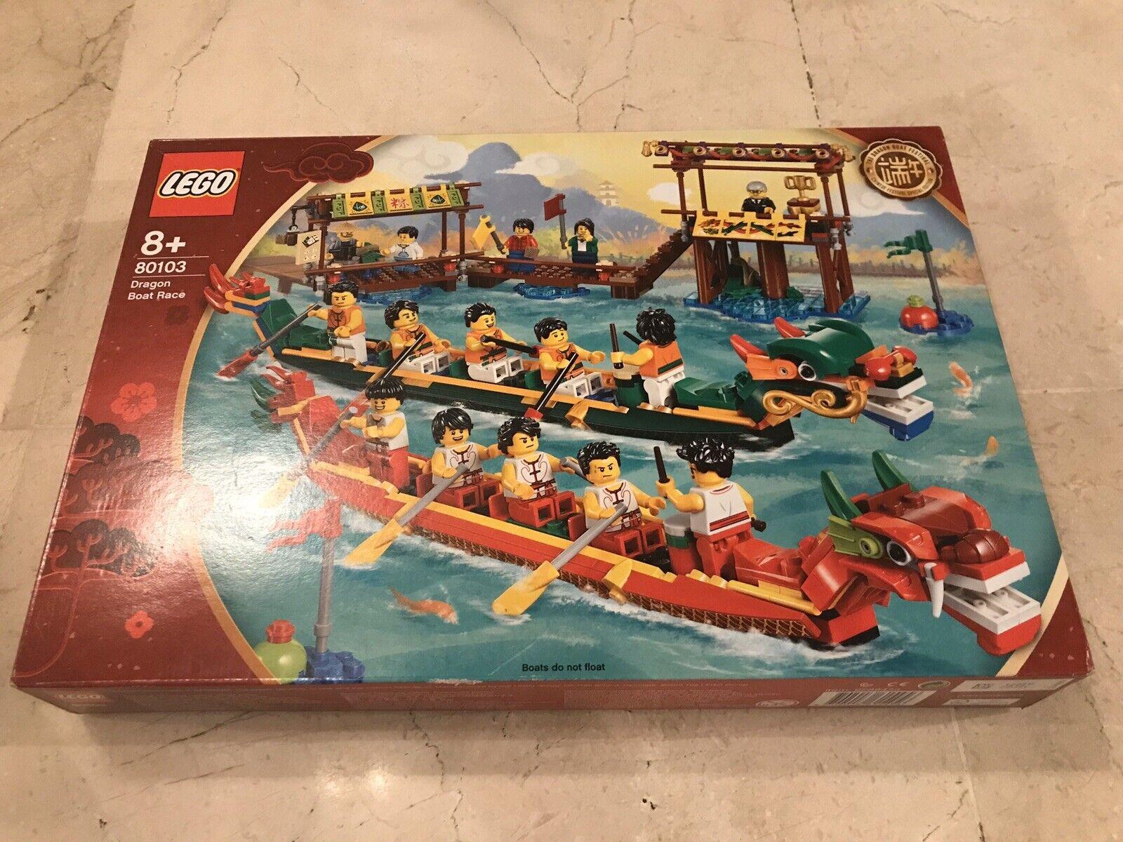 LEGO 80103 COURSE DE BATEAU DU DRAGON NEUF NEW