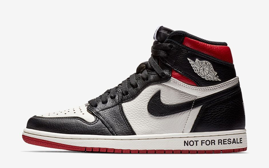 Nike Air Jordan 1 Retro High OG NRG SZ 13 No L's Not For Resale BRED 861428-106
