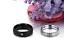 Anello-Anelli-Fede-Fedine-Cristallo-Coppia-Fidanzamento-Amore-Lov-Paio-Incisioni miniatura 4