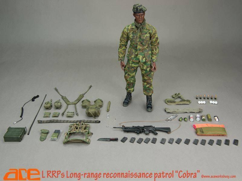 ACE 'Cobra', LRRP (Long (Long (Long Range Recon Patrol) 12  Action Figure ACE-13031 87adb3