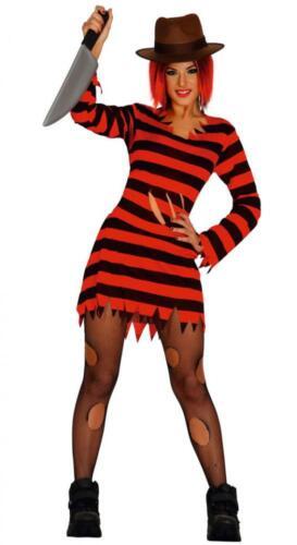 Costume da donna Freddy Krueger