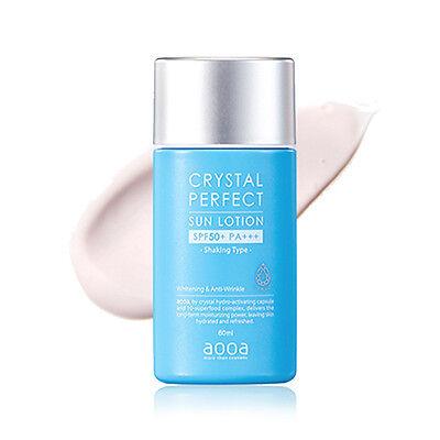 [AOOA] Crystal Perfect Sun Lotion (SPF50+/PA+++) 60ml - Best Korea Cosmetic