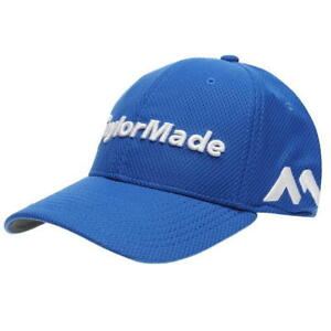 9703384a5c6 TaylorMade New Era 39Thirty Golf Cap - Blue - New w Tags - Top ...