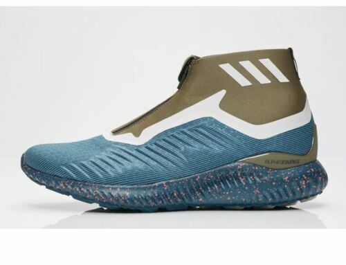 NEW adidas alphabounce zip m petrol night   bluee night   trace olive BW1387