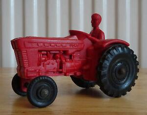 Vintage-Tomte-19-Red-Tractor-1-43-Tomte-Lardal-Stavanger-Norway-ODD015