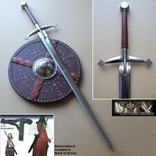 Traditional Scottish Claymore Highland 2 Handed Sword Hand Forged Tempered