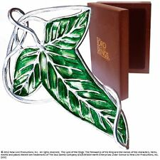The Elven leaf brooch lord of the rings The Noble Collection
