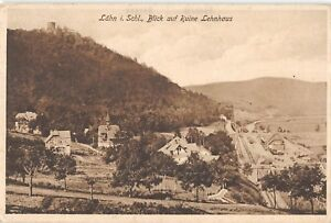 BG19159-lahn-i-schl-blick-auf-ruine-lehnhaus-wlen-poland