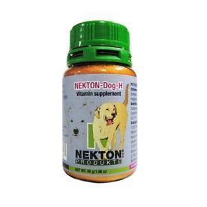 Nekton Dog H composé de vitamines pour améliorer la peau et le pelage pour tous les chiens 120g