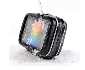 Waterproof-Moto-Bike-GPS-Case-Bag-with-Stand-Mount-for-SAT-NAV-Navman-5-034-Screen