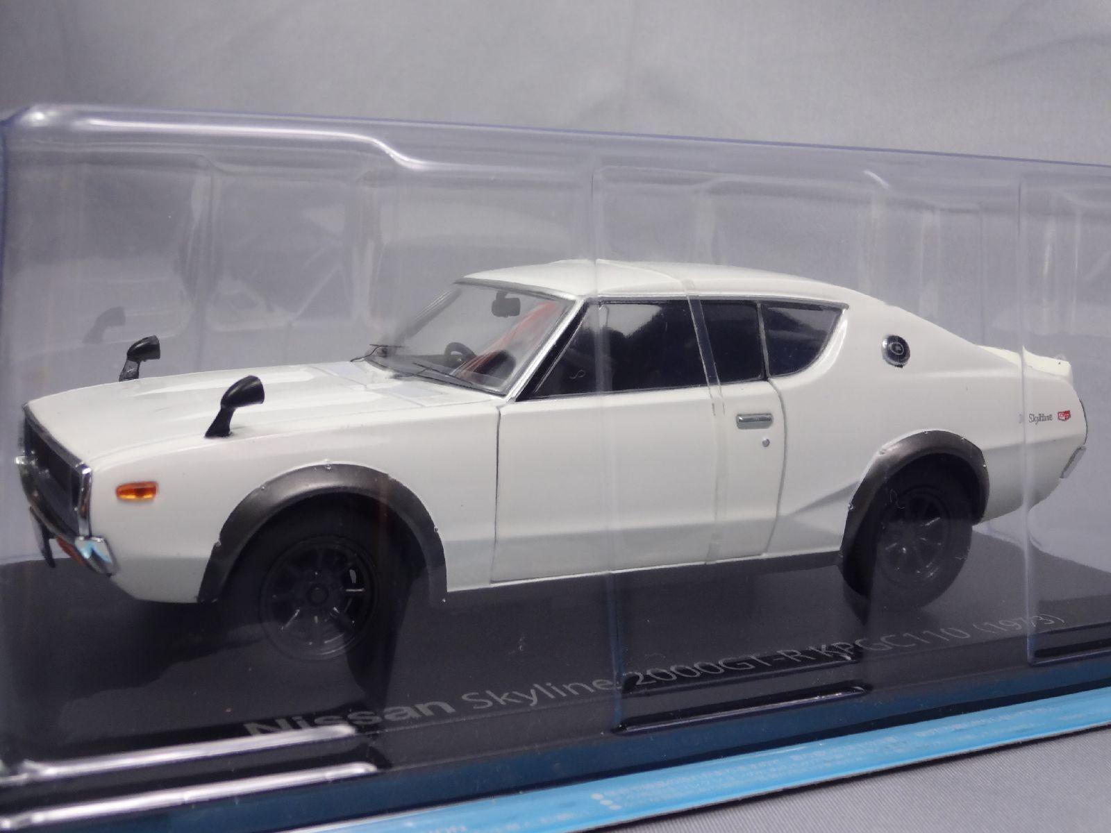 NISSAN SKYLINE KPGC110 2000GT 1973 1/24 Scale Box Car Display Diecast 3CA8