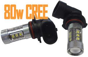 80w-CREE-9006-HB4-Xenon-Blanco-Bombillas-LED-FARO-ANTINIEBLA-GB-Par-PUNTO-DRL