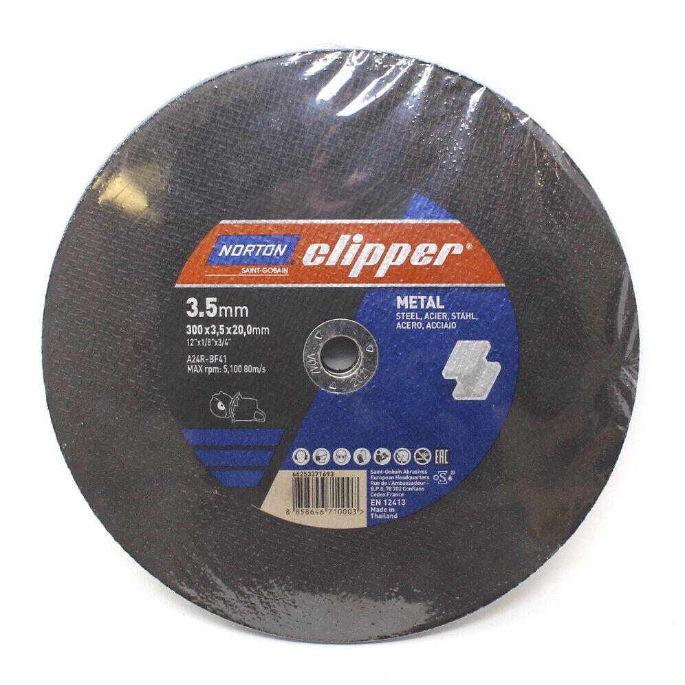 Norton Clipper Diamond Cutting Disc ZDH DUO 300 x 20 mm Clipper PRO