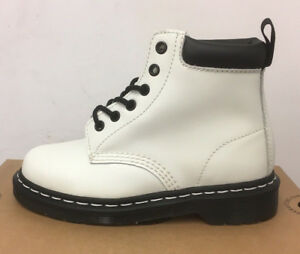 Leather Size 3 White Boots Smooth Martens 939 Uk Dr z1wIPI