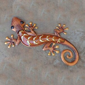 Image Is Loading 18 034 Gecko Copper Finish Metal And Gl