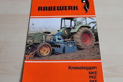 Ebay Motors Disciplined 144151 Rabewerk Kreiselegge Mke Pke Ske Prospekt 05/1985 New Varieties Are Introduced One After Another